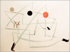 Cuadro de plexi-alu  Bewitched and hurry - Paul Klee
