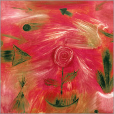 Cuadro de plexi-alu  Rose Wind - Paul Klee