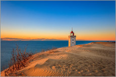Cuadro de plexi-alu  Lighthouse in the dunes - Reemt Peters-Hein