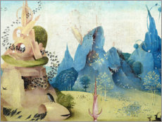 Póster Garden of Earthly Delights, paradise (detail)