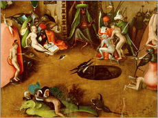 Cuadro de plexi-alu  The Last Judgement, Hell (detail) - Hieronymus Bosch