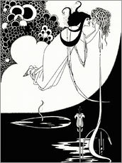 Vinilo para la pared  Salomé - Aubrey Vincent Beardsley