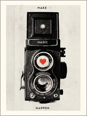 Cuadro de plexi-alu  Vintage retro camera photographic art print - Nory Glory Prints