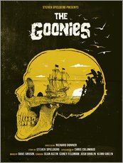 Vinilo para la pared  Los Goonies - Golden Planet Prints