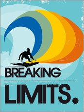 Vinilo para la pared  Surfero, Breaking limits - 2ToastDesign