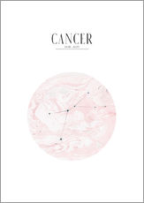Vinilo para la pared  CANCER | CANCER - Stephanie Wünsche