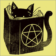 Vinilo para la pared  Witchcraft Cat - Tobe Fonseca