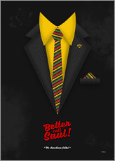 Cuadro de plexi-alu  Better Call Saul - Suit No. #1 - James Morgan Jimmy McGill's Style. Fanart! - HDMI2K