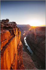 Matteo Colombo - Beautiful sunrise on Grand Canyon and river Colorado, USA