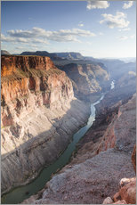 Matteo Colombo - Landscape: sunset over Colorado river, Grand Canyon, USA