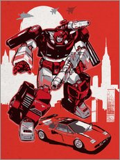 Vinilo para la pared  Transformers - 2ToastDesign