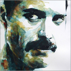 Vinilo para la pared  Freddie Mercury - Paul Lovering Arts