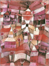 Vinilo para la pared  Rose garden - Paul Klee