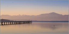 Cuadro de plexi-alu  Dawn at Lake Chiemsee - Martin Wasilewski