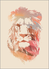 Vinilo para la pared  desert lion final - Robert Farkas