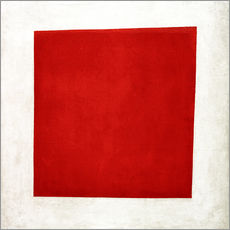 Vinilo para la pared  Red square - Kasimir Sewerinowitsch  Malewitsch