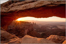 Cuadro de plexi-alu  Mesa Arch, Canyonlands National Park, Utah, United States of America, North America - Michael DeFreitas