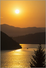 Vinilo para la pared  Puesta de sol sobre Howe Sound - Bill Collins
