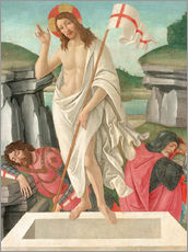 Cuadro de plexi-alu  The Resurrection - Sandro Botticelli