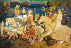 Vinilo para la pared  riders of sidhe - John Duncan