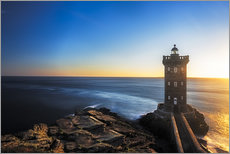 Vinilo para la pared  Lighthouse in Brittany - Frank Fischbach