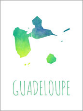 Vinilo para la pared  Guadeloupe - Stephanie Wittenburg