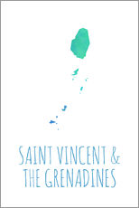 Cuadro de plexi-alu  Saint Vincent & the Grenadines - Stephanie Wittenburg