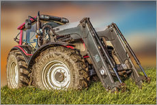 Vinilo para la pared  Tractor with Front Loader - Peter Roder