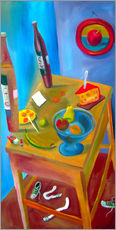 Vinilo para la pared  Cheese and fruits - Diego Manuel Rodriguez