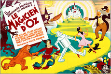 Vinilo para la pared  The Wizard of Oz - French School