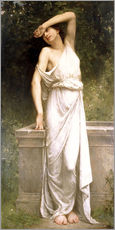Cuadro de plexi-alu  A Classical Beauty by a Well - William Adolphe Bouguereau