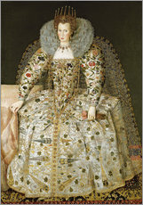 Vinilo para la pared  Portrait of a Lady - English School