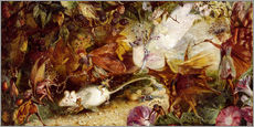 Cuadro de plexi-alu  The Chase of the White Mouse - John Anster Fitzgerald