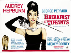 Cuadro de plexi-alu  Breakfast at Tiffany's - English School
