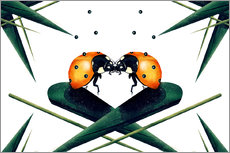 Vinilo para la pared  Bugs in Love - Romina Lutz
