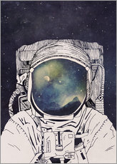 Vinilo para la pared  Dreaming of Space - Tracie Andrews