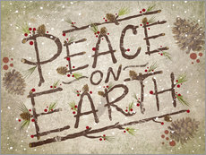 Vinilo para la pared  Peace On Earth - Ashley Verkamp