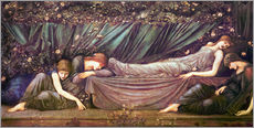 Vinilo para la pared  Briar Rose - The Rose Bower - Edward Burne-Jones