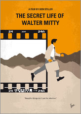 chungkong - No806 My The Secret Life of Walter Mitty minimal movie poster