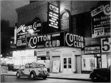 Cuadro de plexi-alu  Cotton Club in Harlem, New York