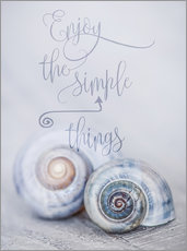 Cuadro de plexi-alu  Simple Things - Andrea Haase Foto