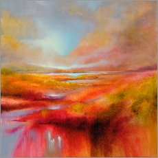 Cuadro de plexi-alu  just let it be a perfect day - Annette Schmucker