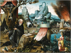 Cuadro de plexi-alu  The Temptations of St. Anthony - Hieronymus Bosch