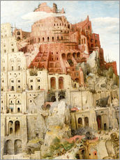 Vinilo para la pared  Tower of Babel (detail) - Pieter Brueghel d.Ä.