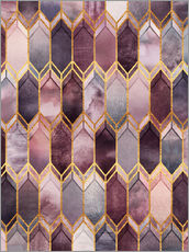 Cuadro de plexi-alu  Dreamy Stained Glass - Elisabeth Fredriksson