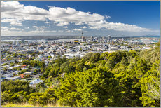 Vinilo para la pared  Skyline Auckland New Zealand - Thomas Hagenau