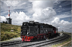 Vinilo para la pared  Brockenbahn - PhotoArt Hartmann