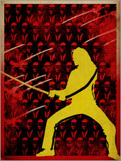 Cuadro de plexi-alu  Kill Bill - Albert Cagnef