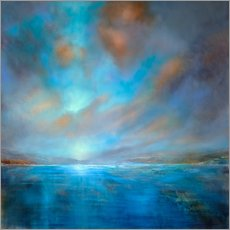 Vinilo para la pared  Blue - Annette Schmucker