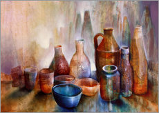 Cuadro de plexi-alu  still life with blue bowl - Annette Schmucker
